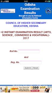 Odisha Exam Result - náhled