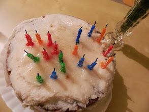 Photo: Karuna's birthday cake