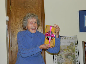 Photo: Karen's 91st birthday, 2012