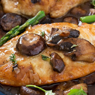 Easy Chicken Marsala #FoodieMamas