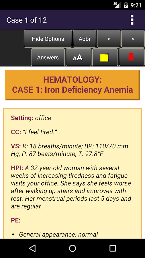 Internal Medicine CCS for the USMLE Step 3- screenshot