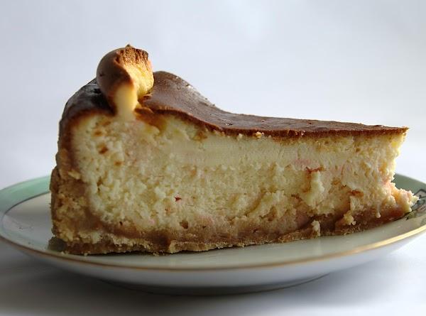 White Chocolate Peppermint Cheesecake! Recipe