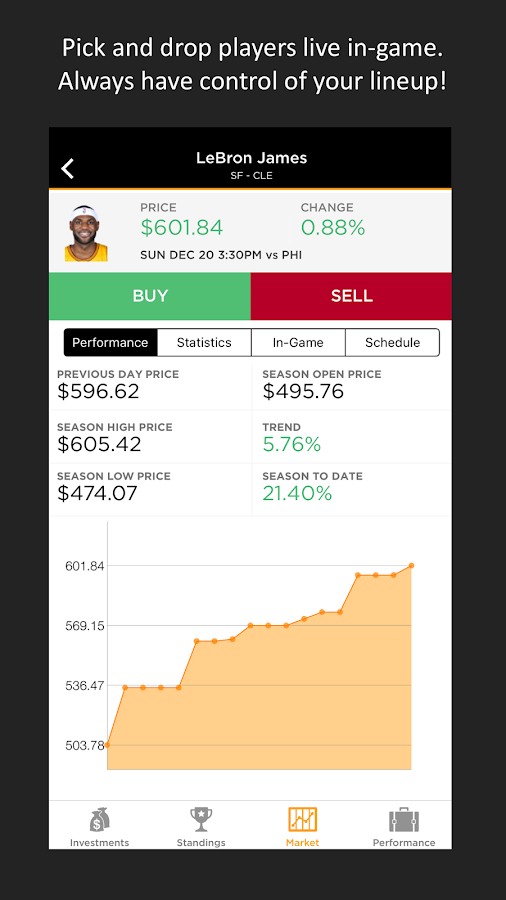 StockJocks Live Fantasy Sports- screenshot