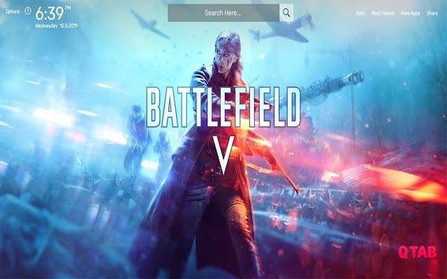 Battlefield 5 Wallpapers HD Theme