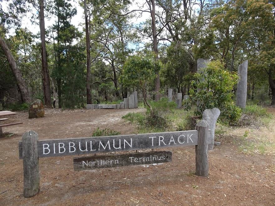 Bibbulmun Track Northern Terminus in Kalamunda