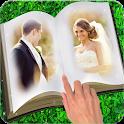 Book Dual Photo Frame icon