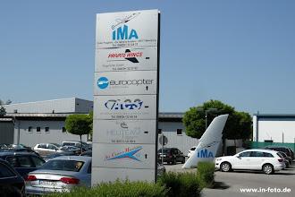 Photo: der kleine Flughafen Manching