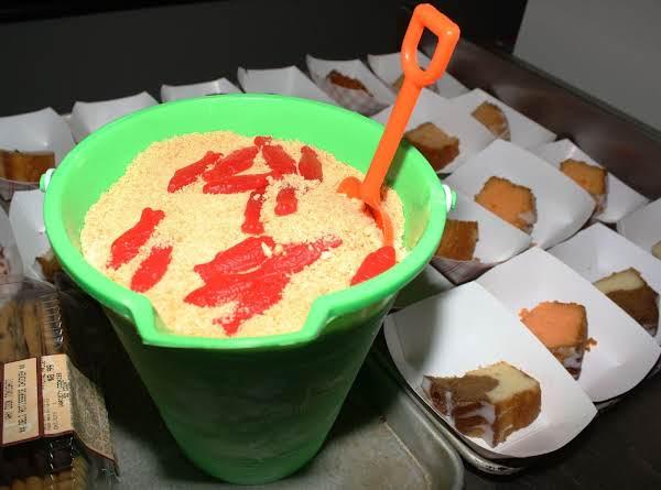 Sand Bucket Dessert