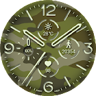 Officer Army Watch Face icon