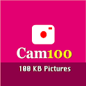 Cam100 || capture or reduce photos mb to kb icon