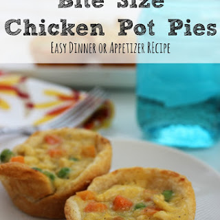 Bite Size Chicken Pot Pies + More Easy Dinner Recipes with Chicken
