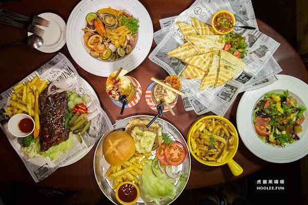 【高雄美食】聚餐慶生來這裡!馬爹力舊美式餐酒館,菜色升級、必吃BBQ豬肋排和魯賓牛肉起司堡