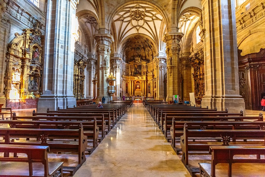 basilica santa maria del coro, San Sebastián by -. Phœnix .- - Buildings & Architecture Places of Worship (  )