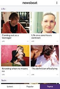 BBC Newsbeat screenshot 4