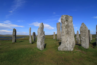 Photo: The Callanish stone circle.