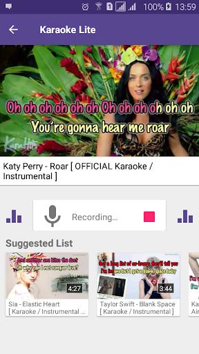 Karaoke Lite : Sing & Record Free 1.13 3
