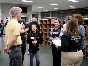 Photo: Hunger Heroes with United Way & Kids Care - Outreach Inc. April 23, 2013.