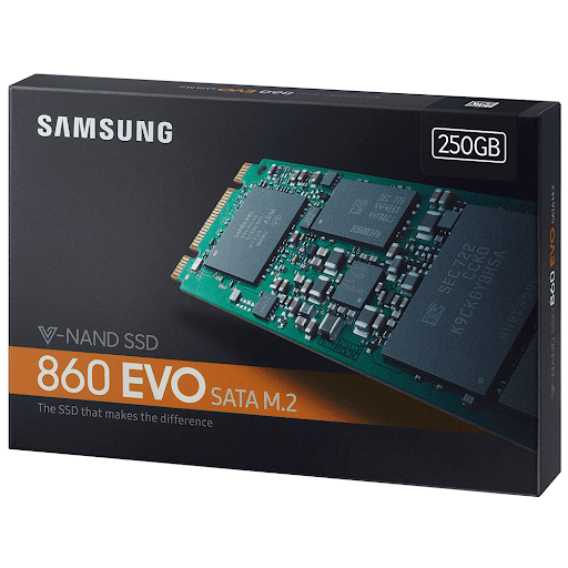 Ổ cứng SSD Samsung 860 EVO 250GB M.2 Sata (Mz-N6E250BW)
