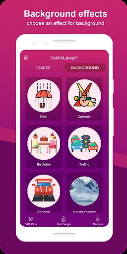 Just4Laugh | Voice Changer App screenshot 3