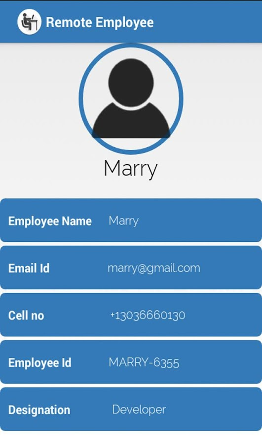 Remote Employee- screenshot