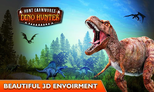 Carnivores Dinosaur Hunter Hd Apk Mod Obb Data