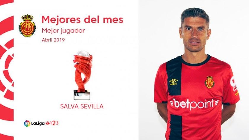 Salva Sevilla ha sido el jugador más votado.