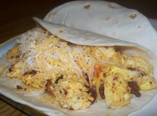 Spicy Breakfast Tacos Recipe