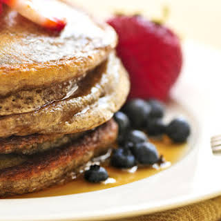 Buckwheat-Flax Seed Pancakes (packed with fat burning & blood sugar controlling nutrients).