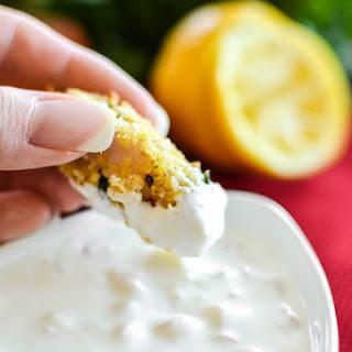 Crispy Fish Bites with Lemon-Shallot Dipping Sauce Recipe