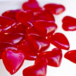 Valentine's Day Heart Homemade Gummies