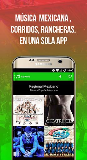 Radiulo Free Mexican music and Mexican radio 6.1.1 screenshots 1