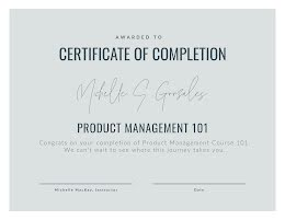 Course Completion - Certificate item
