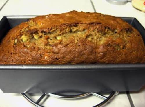 "Extreme Banana Nut Bread""I made this banana bread last night and I..."