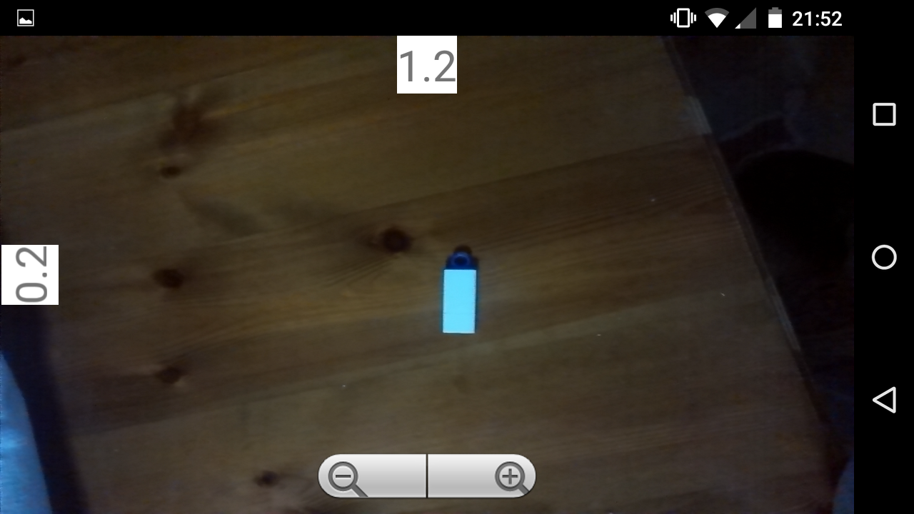 Leveler Camera - στιγμιότυπο οθόνης