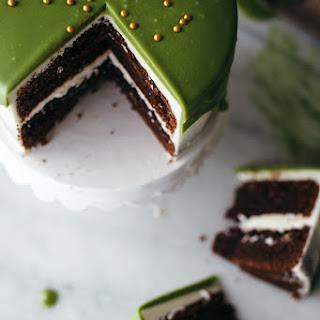 Matcha White Chocolate Ganache.