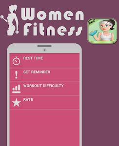 fitness for women : workout screenshot 3
