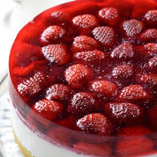 Strawberry Jello Cake.
