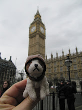 Photo: Doggie visits Houses of Parliament. Not in Worcester, but on the field trip with the UMD students:)
