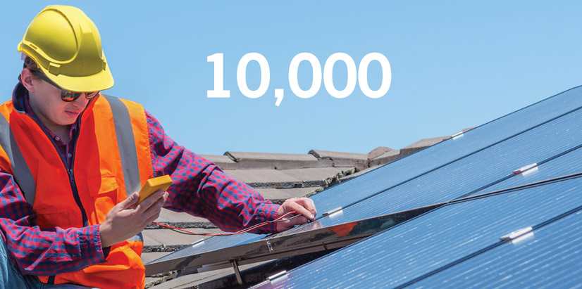 Solar Power supports 10,000 jobs annually in Canada