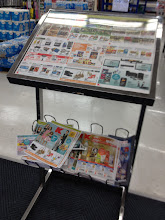 Photo: Once I get inside of Kmart, I do what I do at almost every store that has ads available -- I go pick up an ad. This Kmart had this ad circular display and holder fairly close to the front door, so it was easy to find.