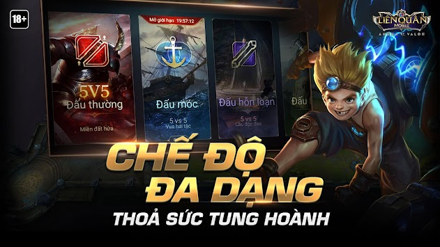 Garena ليان كوان موبايل APK screenshot thumbnail 5
