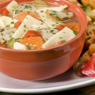 Chicken & Sausage Soup.