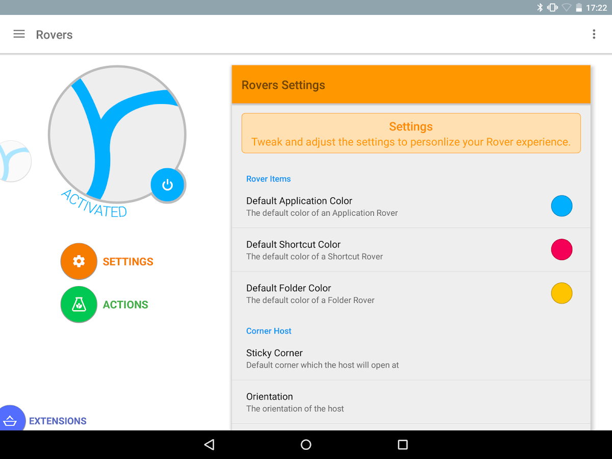 Rovers Floating Launcher- screenshot