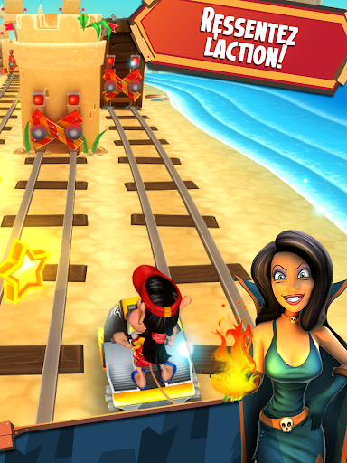 Code Triche Hugo Troll Race 2: The Daring Rail Rush APK MOD (Astuce) screenshots 2