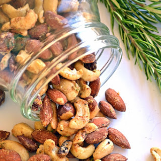 Garlic Herb Roasted Nuts