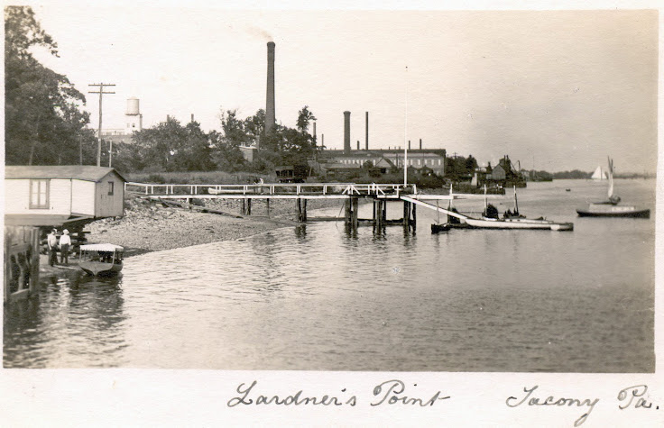 Historic shot of Lardner's Point