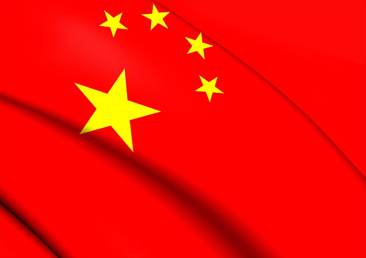 Chinese flag. File photo.