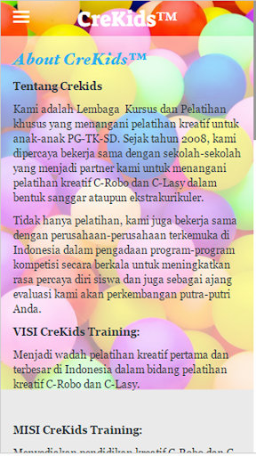 CreKids Training Programme  screenshots 5