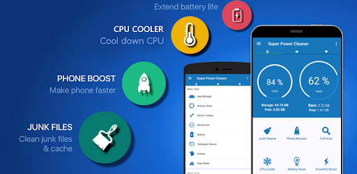 Super Power Cleaner - Clear Cache & Speed Up Phone for PC