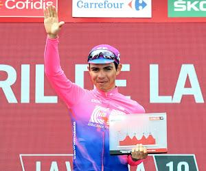 """Sergio Higuita après son succès à la Vuelta : """"J'ai dû rouler avec mon coeur"""""""